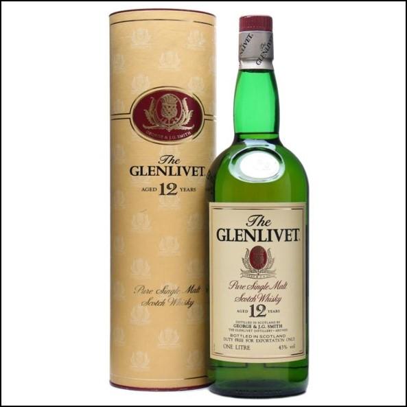 Glenlivet 12 Year Old  100cl 40%