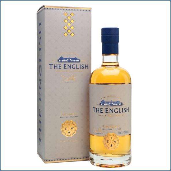 The English Smokey Single Malt Whisky 70cl 43%