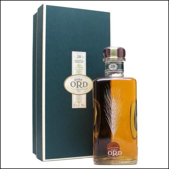 Glen Ord 28 Year Old Highland Single Malt Scotch Whisky 70cl 58.3%