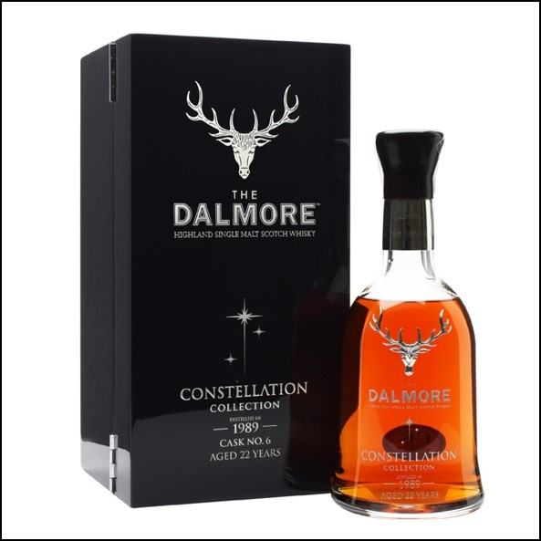 DALMORE CONSTELLATION 1989 22 Year Old Cask 6 70cl 53%  大摩22年威士忌收購 1989