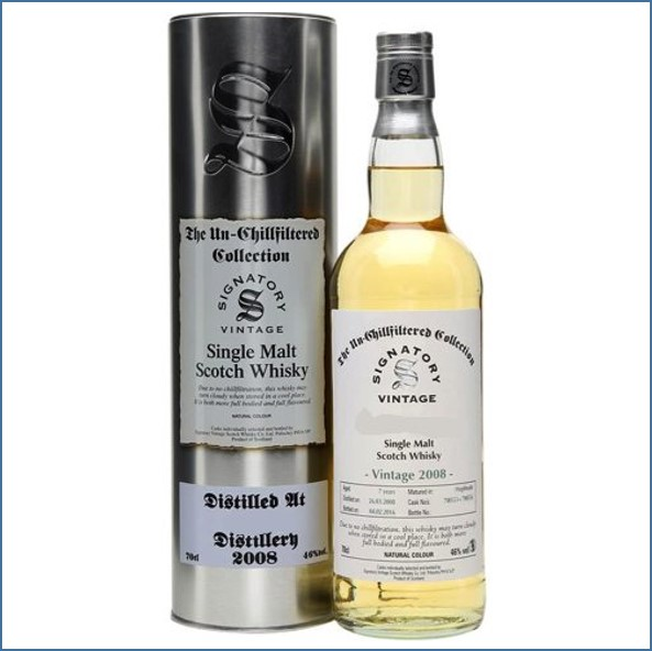 Ardmore 8 Year Old 2008 Signatory  70cl 46%