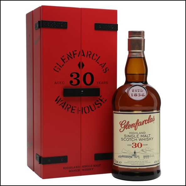 Glenfarclas 30 Year Old 180 Years In Production 70cl 43%