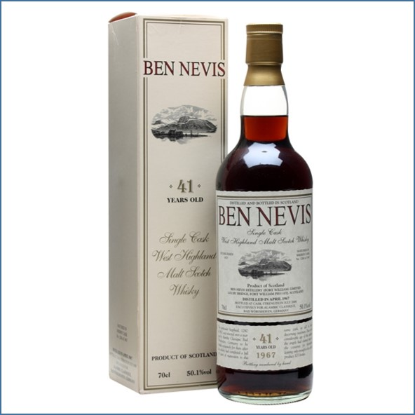 Ben Nevis 41 Year Old 1967 Sherry Cask #1280 70cl 50.1%