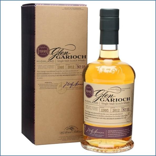 Glen Garioch Vintage 1995 16 Year Old 1st fill bourbon barrels bot. 2012 70cl 55.3%.