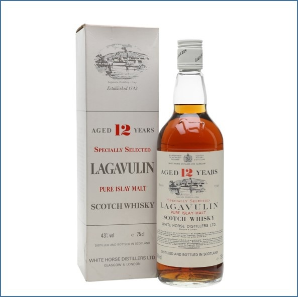 LAGAVULIN 12 YEAR OLD Bot.1980s 75cl 43% 拉加維林12年舊版收購