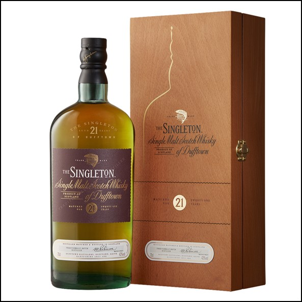 The Singleton of Dufftown 21-year-old 70cl 43% 蘇格登21年收購