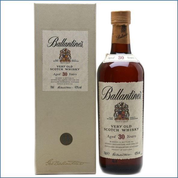 Ballantine's 30 Year Old Blended Scotch Whisky 70cl 43%