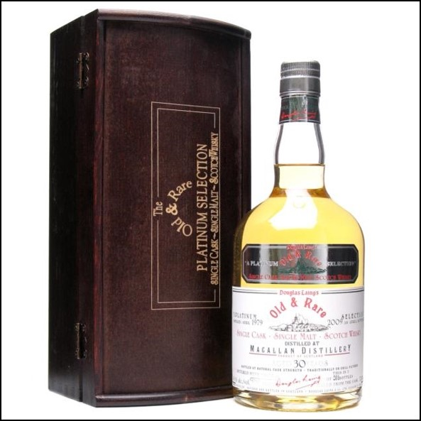 Macallan 30 Year Old 1979-2009 Old and Rare Platinum Douglas Laing 70cl 45.1%