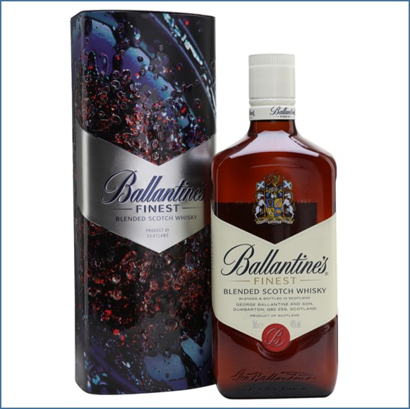 Ballantine's Finest True Music Reeps One Limited Edition Blended Scotch Whisky 70cl 40%
