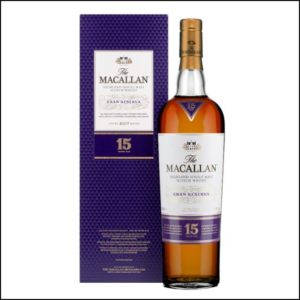 麥卡倫15年 Gran Reserva 紫鑽-2017