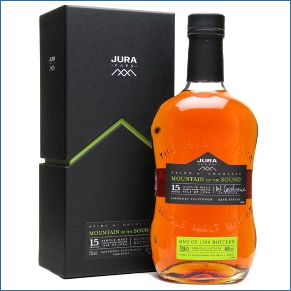 Isle of Jura Mountain of the Sound 15 Year Old 70cl 46%