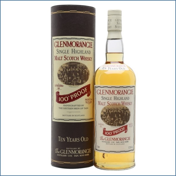Glenmorangie 10 Year Old 100 Proof 100cl 57.2%