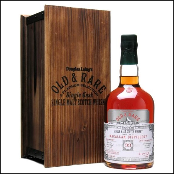 Macallan 33 Year Old 1977-2010 Old and Rare Platinum Douglas Laing 70cl 45.1%