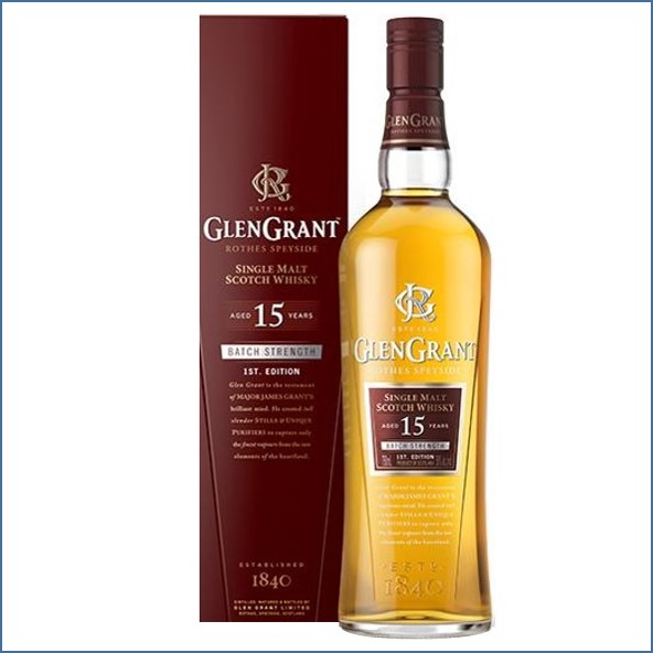 Glen Grant 15 Year Old Batch Strength 1st Edition 70cl 50%