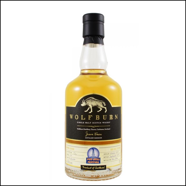 Wolfburn 3 years old  Pot Still Festival 2013-2017 70cl 55%