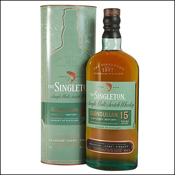 The Singleton of Glendullan Ord 15-year-old 70cl 40% 蘇格登15年收購