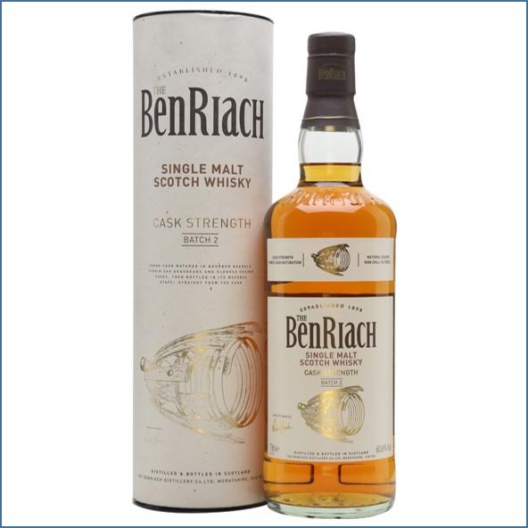 BenRiach Cask Strength - Batch 2 70cl 60.6%