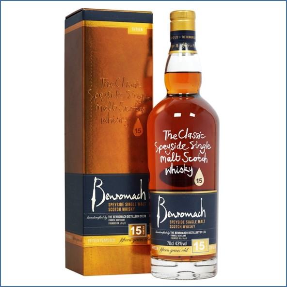 收購百樂門15年威士忌,百樂門15年威士忌收購, Benromach 15 Year Old 70cl 43%