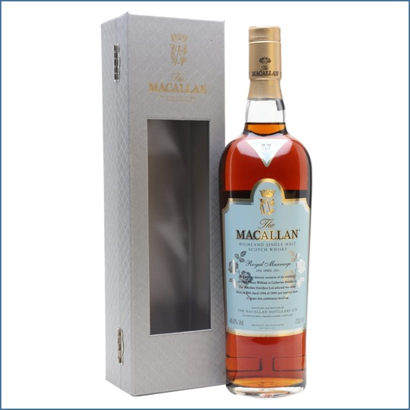 Macallan Royal Marriage Kate & William 70cl  46.8%
