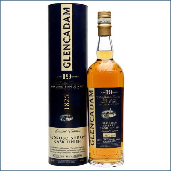 Glencadam 19 Year Old Oloroso Sherry Finish 70cl 46%