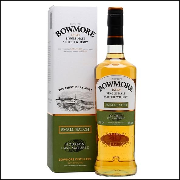 Bowmore Small Batch 70 cl 40 %/波摩 Small Batch 小批量/Bowmore Whisky 波摩威士忌收購價格表/台灣洋酒收購中心