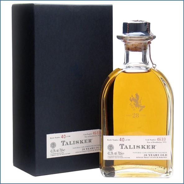 Talisker 28 Year Old 1973 70cl 43.3%