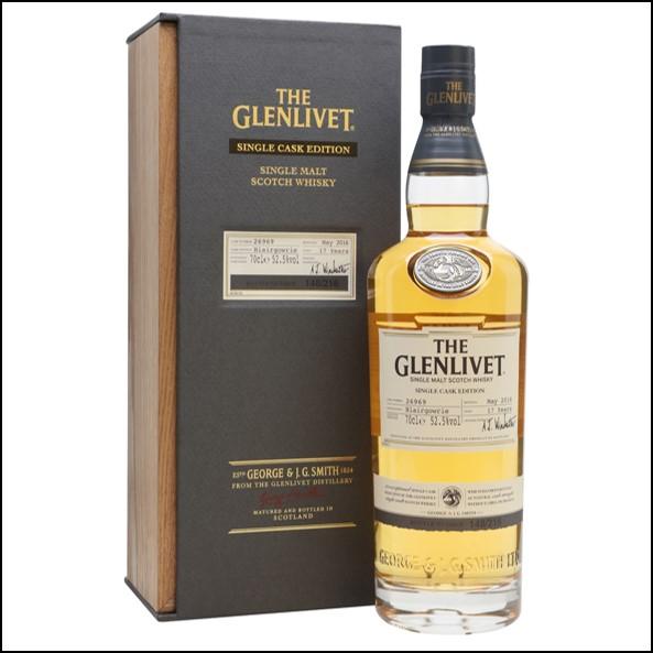 GLENLIVET 17 Year Old BLAIRGOWRIE 70cl 52.5%