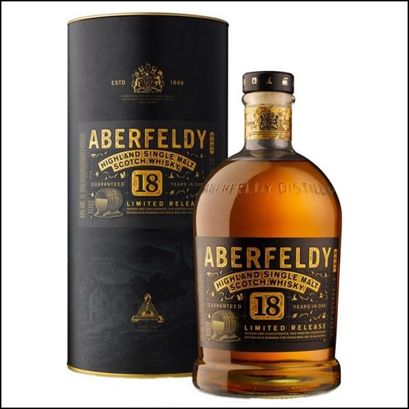 Aberfeldy 18 Year Old Single Malt Scotch Whisky 70cl 40.0% 收購艾伯迪18年