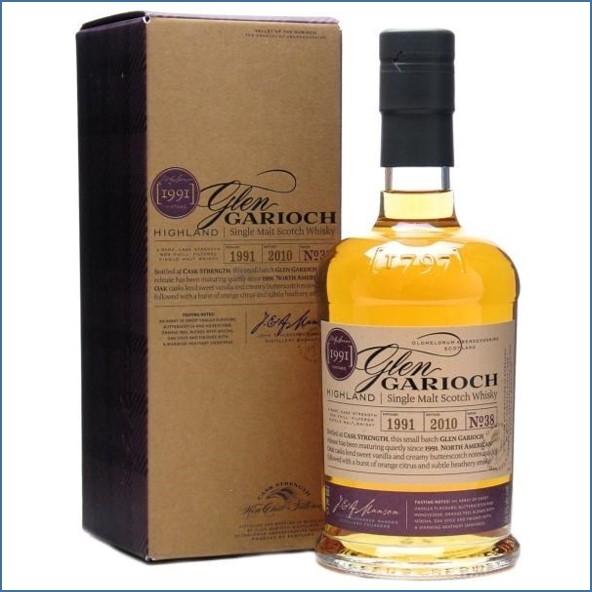 Glen Garioch Vintage 1991 19 Year Old  North American oak, bottled 2010 70cl 54.7%.