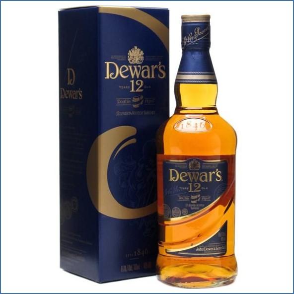 Dewar's 12 Year Old Blended Scotch Whisky 70cl 43%