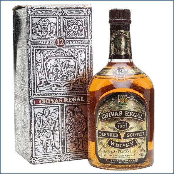 Chivas Regal 12 Year Old Bot.1970s Blended Scotch Whisky 75.7cl 43%