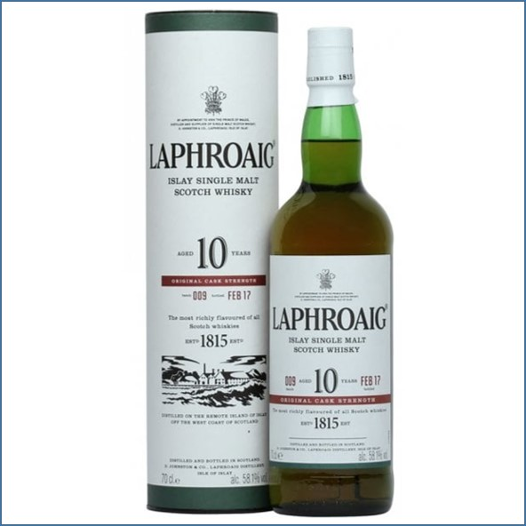 拉佛格10年原酒收購 Laphroaig 10 Year Old Cask Strength Batch 009 Bot.2017 70cl 58.1%