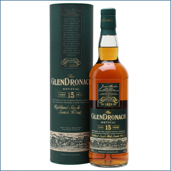 Glendronach 15 Year Old Revival Sherry Cask 70cl 46%