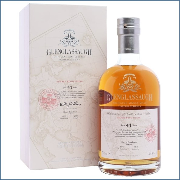 Glenglassaugh 1973 41 Year Old  Sherry Wood Finish 70cl 44.5%