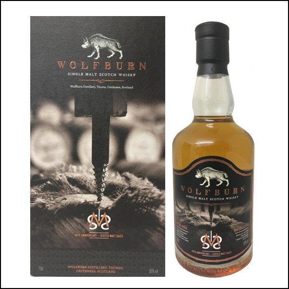 Wolfburn SMS 40th Anniversary 2019 70cl 50%