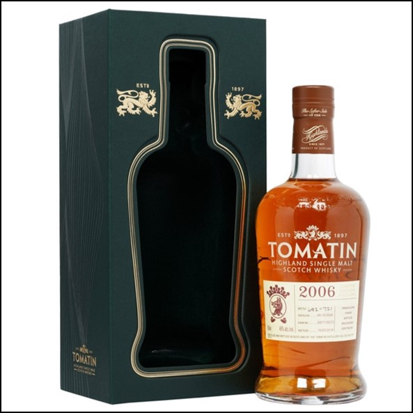 Tomatin 2006 - 12 Year Old - French Oak Finish - UK Exclusive 70cl 46%