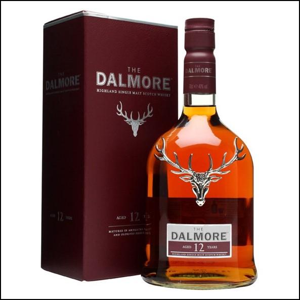 DALMORE 12 YEAR OLD 70cl 40%  大摩12年威士忌收購