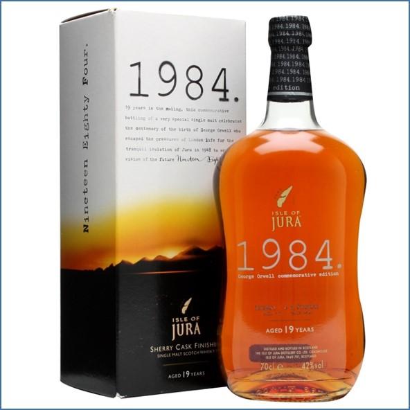 Isle of Jura 19 Year Old 1984 Island Single Malt Scotch Whisky 70cl 42%