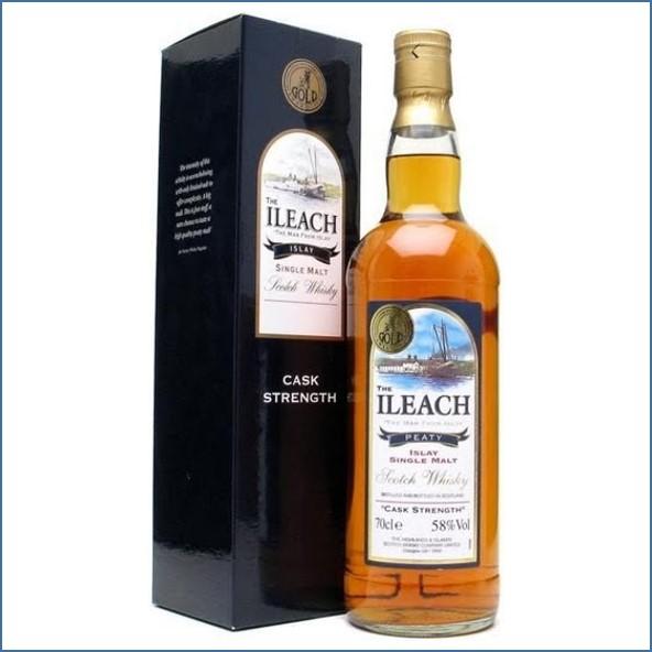 Ileach Peaty Cask Strength 70cl 58%