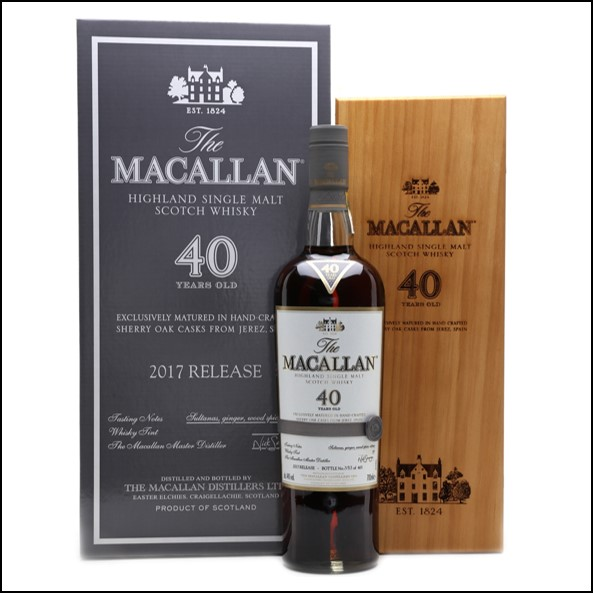 Macallan 40 Year Old 2017