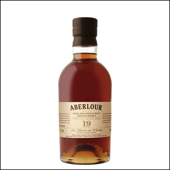ABERLOUR 19 ans First Fill Sherry Cask - 60th Anniversary LMDW 53.6% 收購亞伯樂19年