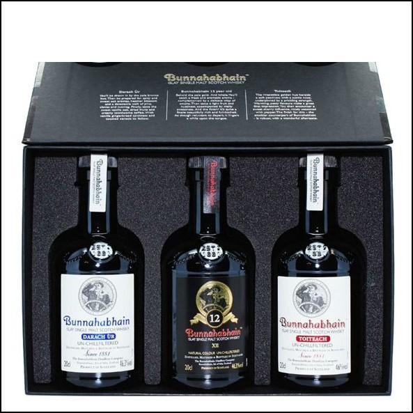 Bunnahabhain Single Malt Scotch Whisky Gift Set (3 x 20cl )