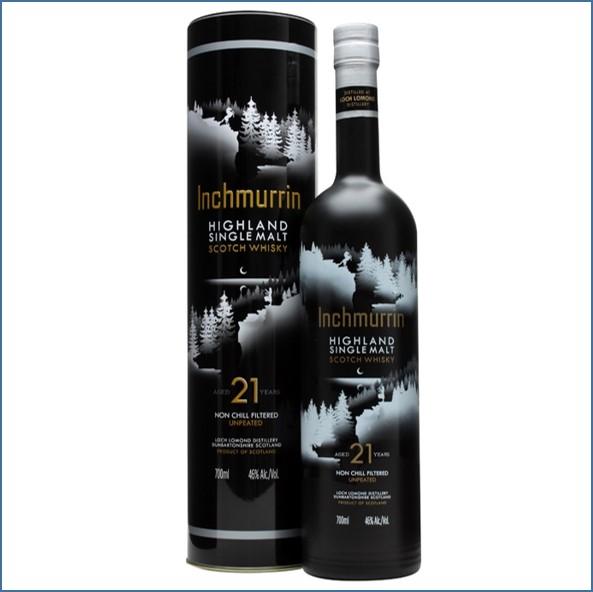 Inchmurrin 21 Year Old 70cl 46%