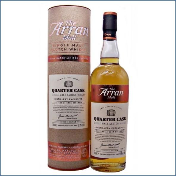 Arran Quarter Cask Distillery Exclusive 70cl 52.8%