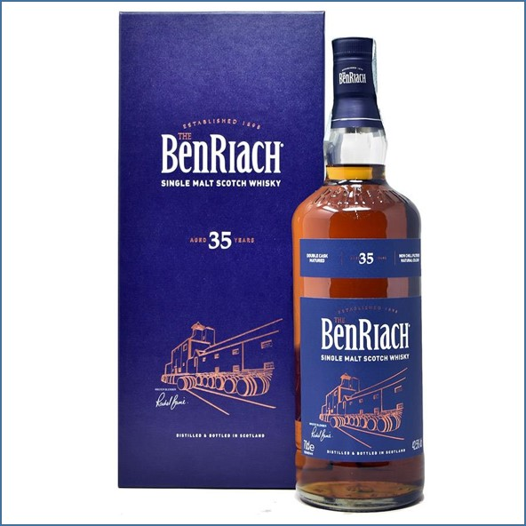 Benriach 35 Year Old 2019 Edition Speyside Single Malt Scotch Whisky 70cl 42.5%