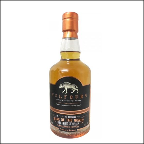 Wolfburn 4 years old Wine of the month Single Cask 2015-2019 70cl 57.3%