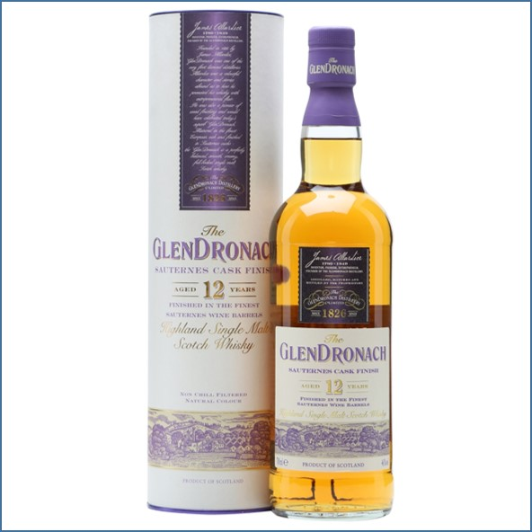 Glendronach 12 Year Old Sauternes Finish  70cl 46%