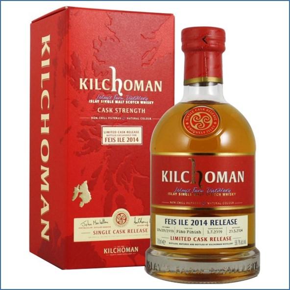 Kilchoman Feis Ile 2014 5 Year Old 2009 70cl 58.7%