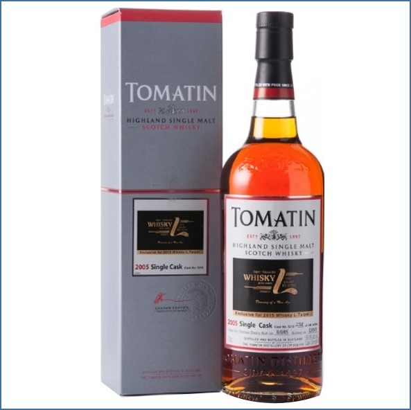 Tomatin 2005 Single Cask 2015 #5215 Oloroso Sherry Butt 70cl 59.5% Whisky Love Taiwan