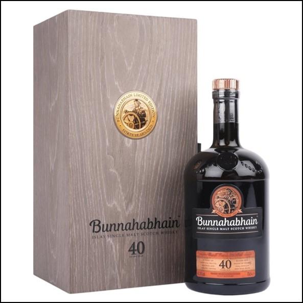 Bunnahabhain 40 Year Old 2018 Release 70cl 41.9%